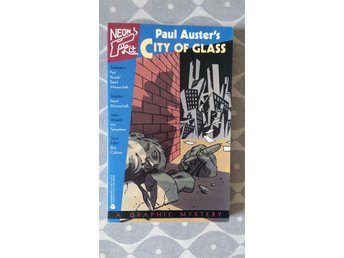 Mazzucchelli City of Glass Paul Auster Graphic Novel Original press MINT!
