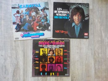 3 x Les Humphries Singers Lp