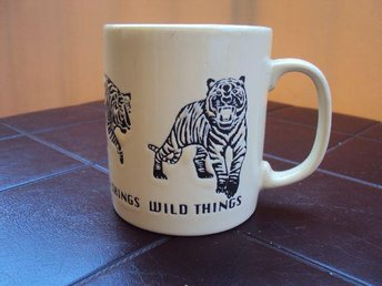 MUGG från JUST MUGS England Wild Things Tiger