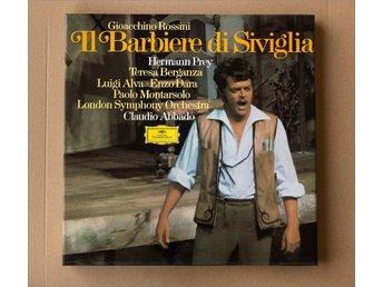 LP-box – Rossini – Il Barbiere di Siviglia – London Symphony – Claudio Abbado - Saltsjöbaden - LP-box – Rossini – Il Barbiere di Siviglia – London Symphony – Claudio Abbado - Saltsjöbaden