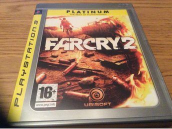 FARCRY 2 med manual  Playstation 3 ps 3