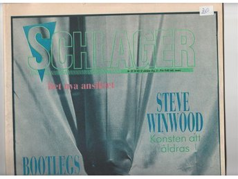Schlager nr 52 1982 Stevie Winwood Bootlegs Viva