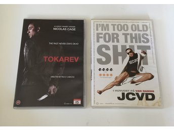2x DVD filmer: Tokarev (Nicolas Cage) Im Too Old For This Shit (Van Damme) - Malmö - 2x DVD filmer: Tokarev (Nicolas Cage) I'm Too Old For This Shit (Van Damme) - Malmö