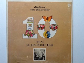 Vinyl LP Peter,Paul and Mary The Best of. WB 2552 1970