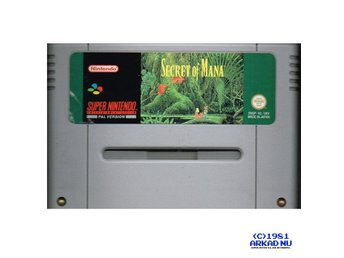 SECRET OF MANA SNES SUPER NINTENDO SPEL