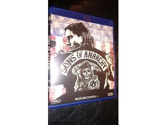 Sons Of Anarchy 2008 Season One 1 13 Episodes 3 disc Blu-ray Ny Svensk text
