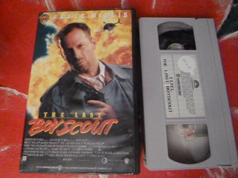 THE LAST BOYSCOUT, VHS, DANSK TEKST, FILM, 102 MIN.