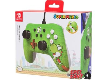 PowerA Nintendo Switch Wired Controller Super Mario Yoshi