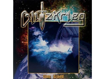 Blitzkrieg -Sins and greed dlp RARE ORIGINAL 2005 pre NWOBHM