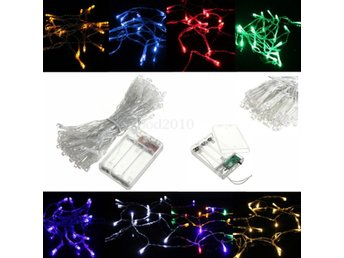 10M 80LED Battery Powered LED Funky ON/ Twinkling Lamp Fa...