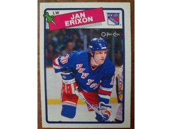 new style 1f6a9 e29cb Jan Erixon – O-Pee-Chee 1988-89 New York Ranger.. (351270209 ...
