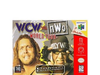 WCW vs nWo WORLD TOUR till Nintendo 64, N64