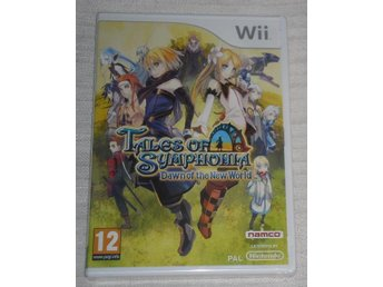 Nintendo Wii: Tales of Symphonia: Dawn of the New World (nytt)