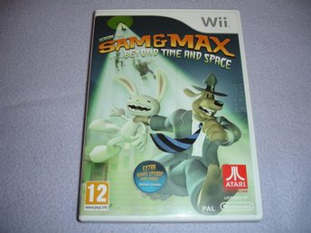 SAM & MAX SEASON TWO BEYOND TIME AND SPACE  NINTENDO WII RARE
