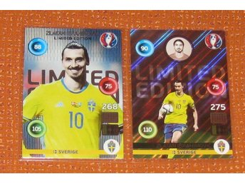 Zlatan Ibrahimovic Euro 2016 Adrenalin XL Limited Edition (Classic and Shiny)