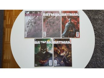 Batman Europa #1-4 + BAtman Europa Directors Cut #1 (pencils)