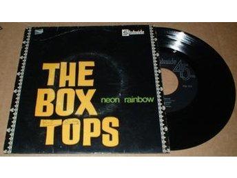 """BOX TOPS NEON RAINBOW 7"""" Vinyl - älmhult - BOX TOPS NEON RAINBOW 7"""" Vinyl - älmhult"""