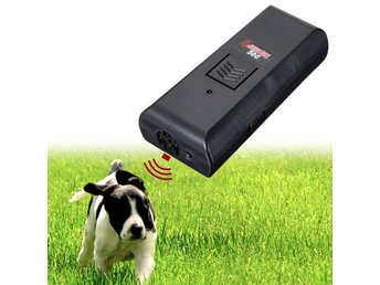 "Ultrasonic Pet Dog Repeller Stop Barking Dog Trainer ""Sluta-skälla-tränare"""