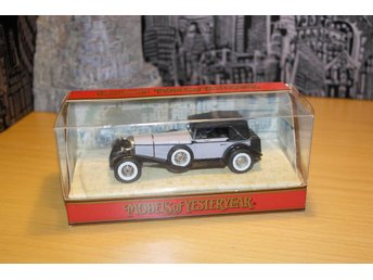 Mercedes-benz SS 1928 matchbox Y-16