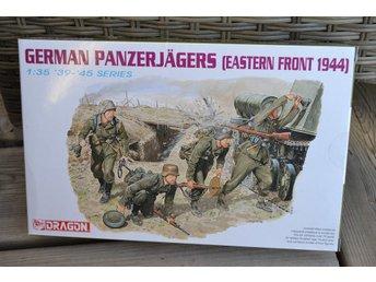 German Panzerjägers (Östra fronten 1944, Tyskland) 1:35 Dragon (4st Figurer) Ny - Vännäs - German Panzerjägers (Östra fronten 1944, Tyskland) 1:35 Dragon (4st Figurer) Ny - Vännäs