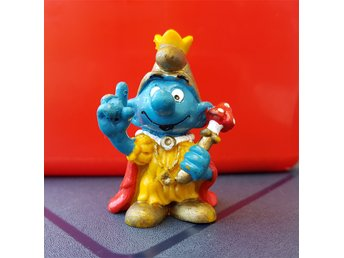 Emperor Smurf, 1978, Made in Portugal!