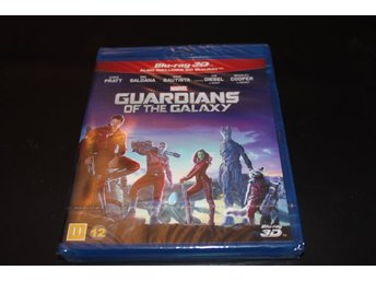 Blurayfilm: Guardians of the Galaxy - Blu-ray 3D (NY, INPLASTAD!)