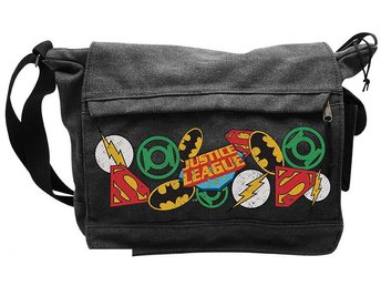 Messenger Bag - DC Comics - Justice Leage logos