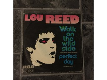 "LOU REED - WALK ON THE WILD SIDE. (7"")"