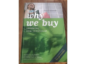 Why we buy - shopping som vetenskap, isbn 978-91-534-2805-3