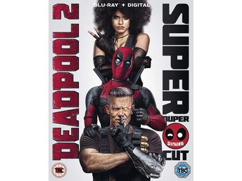 Deadpool 2 + Digital 2018 128 Min Dir cut.111 Min Bio version Svtxt  Bluray Ny