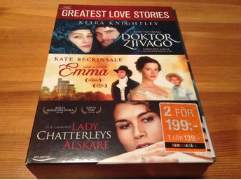 The Greatest Love stories - Svensk text - DVD