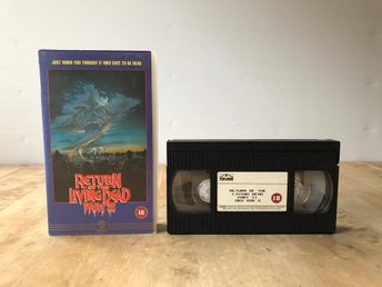 VHS Return of the living dead part 2 - Engelsk utgåva