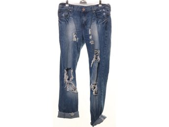 Perfect Jeans Gina Tricot, Jeans, Strl: 29, Blå