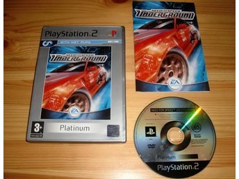 PS2: Need For Speed Underground
