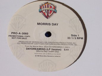 "MORRIS DAY - DAYDREAMING 12"" 1988 PROMO"