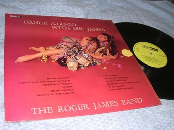 Roger James Band - Dance a Go Go (LP) Polymax EX/VG+