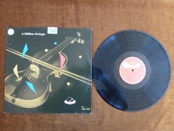 RICARDO SANTOS & ORCH., A MILLION STRINGS,  LP, LP-SKIVA