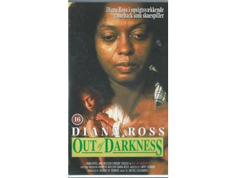 OUT OF DARKNESS - DIANA ROSS  (DANSK TEXT!-VHS FILM !!)