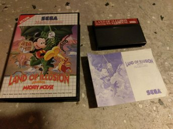 Land of Illusion . Mickey Mouse - Sega Master System