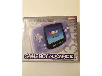 Gameboy Advance Svensksåld