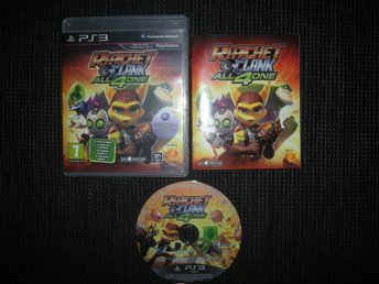 PS3 Ratchet & Clank All 4 One