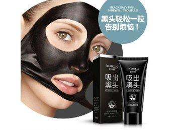 egen ansiktsmask mot pormaskar