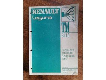 Renault Laguna årsmodell 1996, Kopplingsscheman - Höör - Renault Laguna årsmodell 1996, Kopplingsscheman - Höör