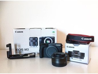 Canon EOS M3 + EF-M 22/2 STM + EF Adapter mm