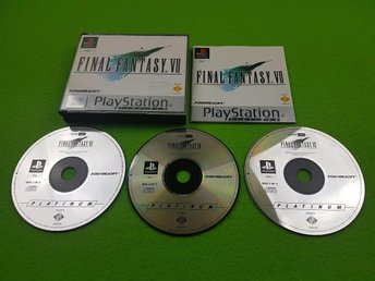 Final Fantasy 7 KOMPLETT  Playstation ps1