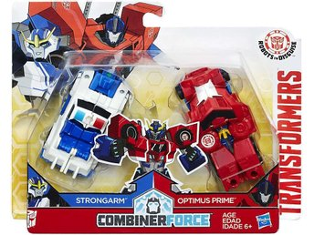 Transformers Robots in Disguise Strongarm & Optimus Prime Action Figure