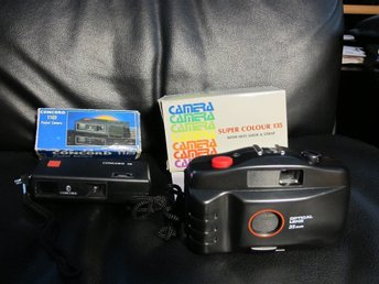 Super colour 135, 35mm camera & Concord 118 Pocket camera