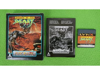 Shadow of the Beast KOMPLETT Atari Lynx