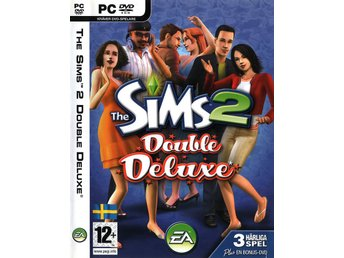 THE SIMS 2 Double Deluxe + 2 expansioner /världens mest sålda pc-spel  <----