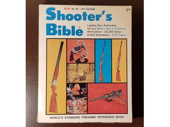 Shooter´s Bible 8.500 illustrations 576 pages No 62, 1971